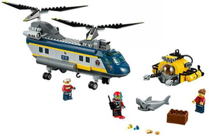 Lego Set 60093 - Deep Sea Helicopter