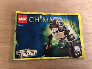 Lego Set 70125 -  Gorilla Legend Beast