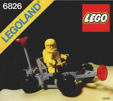 Load image into Gallery viewer, Lego Set 6826 -  Crater Crawler