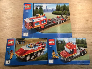Pre-owned LEGO® 4430, Original Instructions