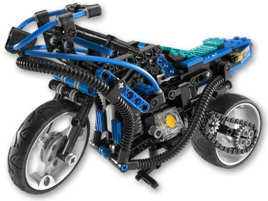 Lego Set 8417 -  Mag Wheel Master