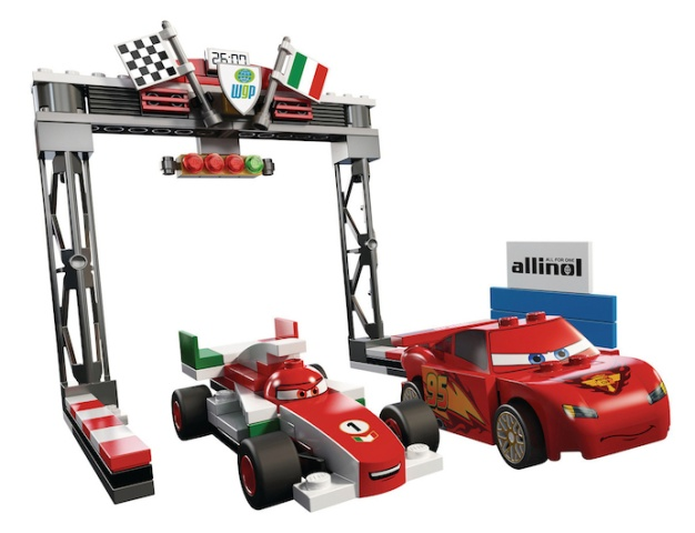 Lego Set 8423 -  World Grand Prix Racing Rivalry