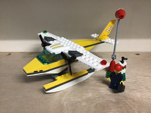 Pre-owned LEGO®, 3178, Seaplane, fuelling station, pilot