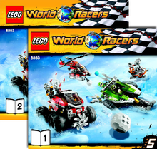 Load image into Gallery viewer, Lego Set 8863 -  Blizzard's Peak