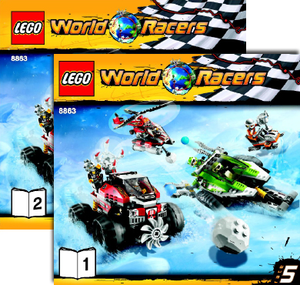 Lego Set 8863 -  Blizzard's Peak
