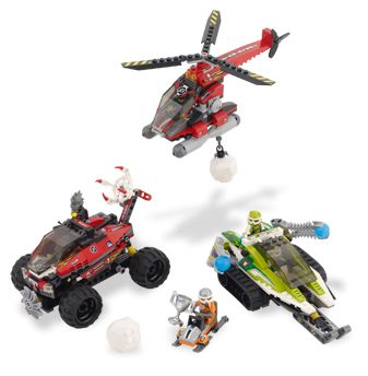 LEGO WORLD RACERS 8863 Blizzard's Peak