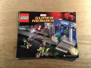 Used LEGO® SUPER HEROES 76082 Original Instructions