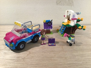 Pre-owned LEGO®, 41116, Car, Observatory, robot and Olivia