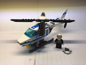Pre-owned LEGO®, 7741, Police Helicopter with 1 figure