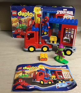 Lego Set 10608 -  DUPLO Spider-Man Truck Adventure