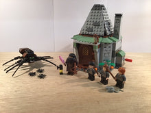 Load image into Gallery viewer, Pre-owned LEGO® 4738, Hagrid's Hut, Aragog, 4 figures