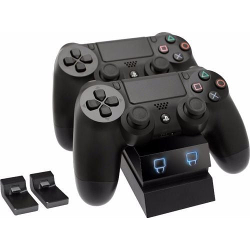 Twin Docking Station - Black (PS4)