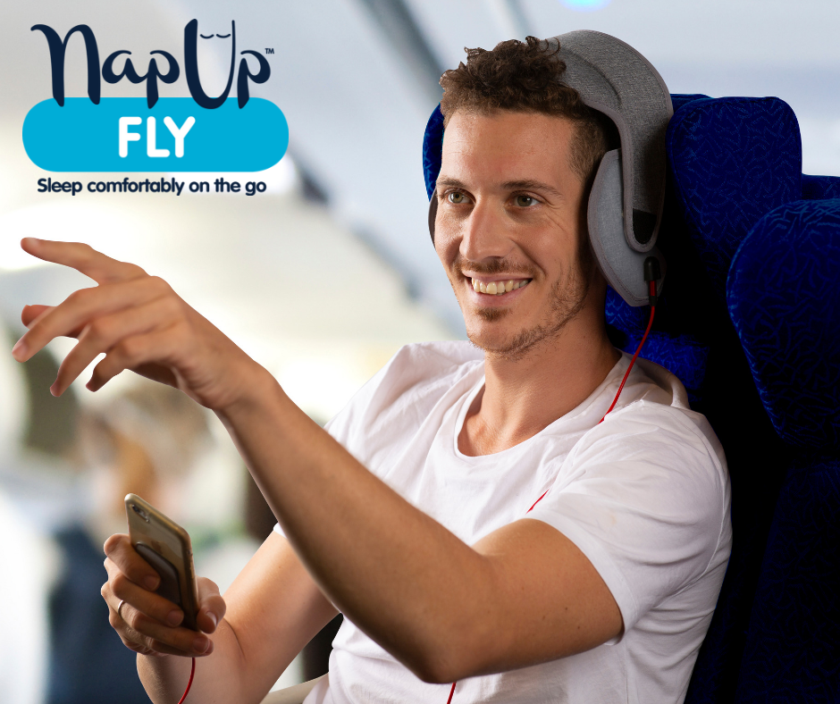 NapUp Fly: In-Flight Head Support System
