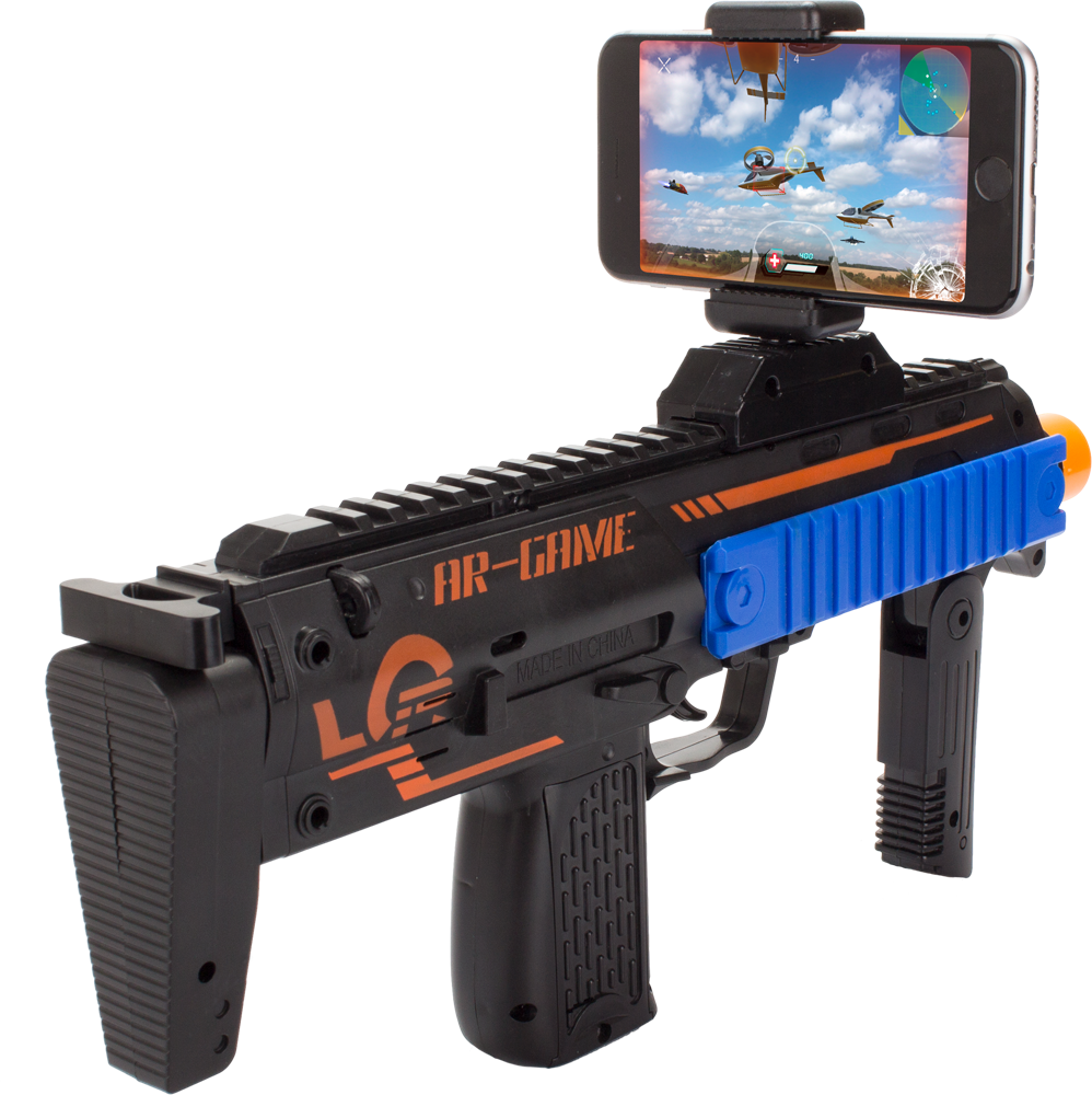 AR Mobile Phone Game & Gun - (Includes Download for 20-Games-In-1 App)