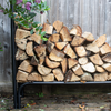 Outdoor Log Storage Rack (2.4m Width)