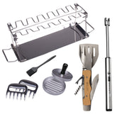 Deluxe BBQ Tools and Accessories Kit