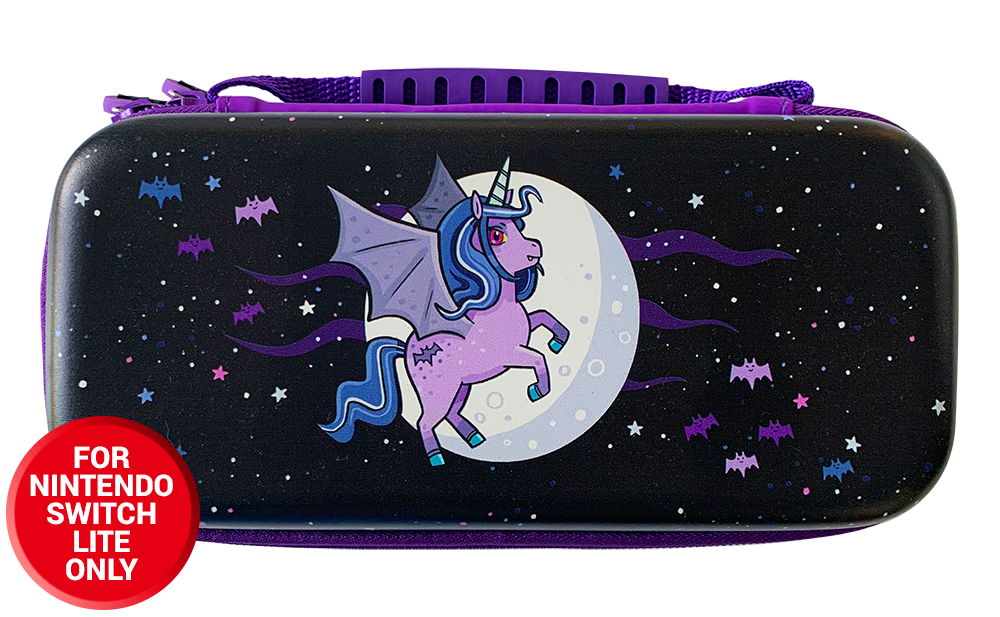 Moonlight Unicorn Protective Carry and Storage Case (Nintendo Switch Lite)