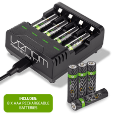 Venom Power Recharge - Charging Station plus 8 x AAA 800mAh Rechargeable Batteries