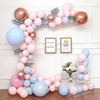 Baby Boy Gender Reveal Baby Shower Balloon Arch Decoration DIY Kit - Includes 100+ Balloons