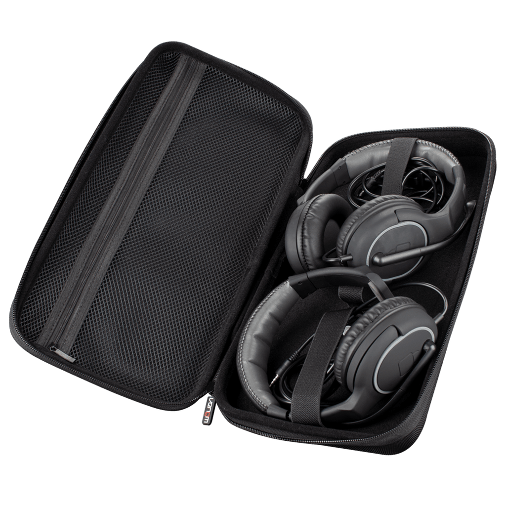 Universal Gaming Headset Carry Case (Holds Up To 2 Headsets)