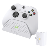 Charging Dock with Rechargeable Battery Pack - White (Xbox Series X / S)