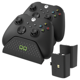 Twin Charging Dock with 2 x Rechargeable Battery Packs - Black (Xbox Series X / S)