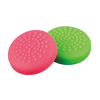 Joy Con & Pro Controller Thumb Grips - Pink / Green (Nintendo Switch)