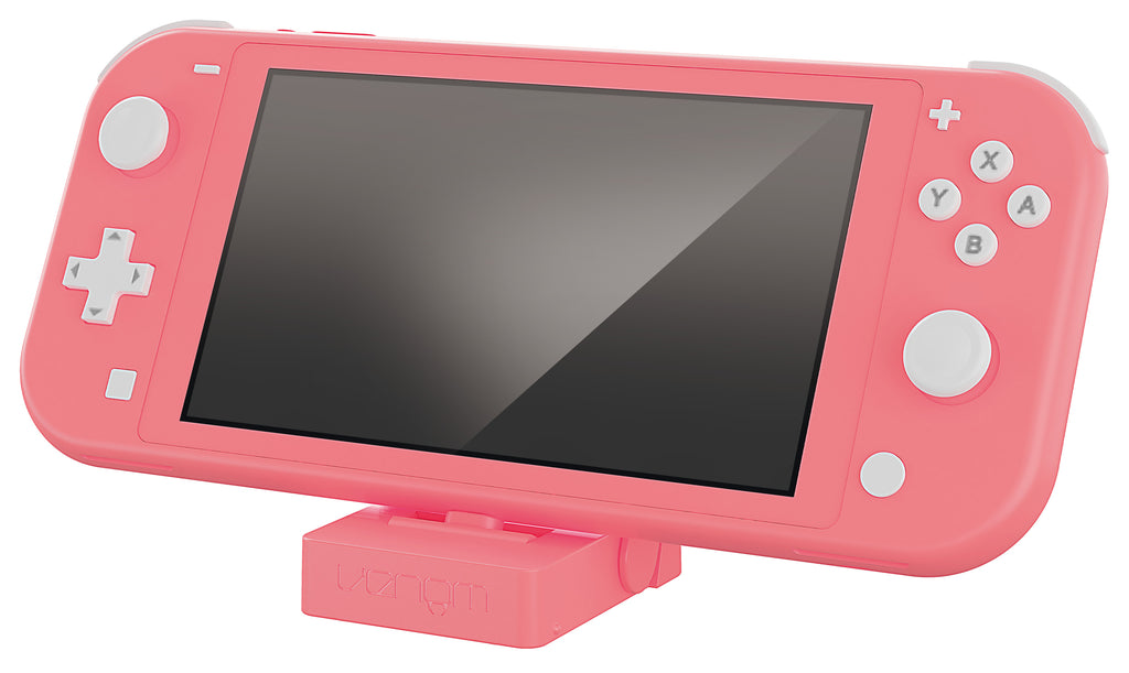 Nintendo Switch Lite Charging Stand - Coral