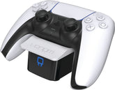 Dual Sense Controller Docking Station - White (PS5)