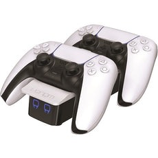 Dual Sense Controller Twin Docking Station - White (PS5)