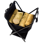 Folding Carry & Store Log Basket