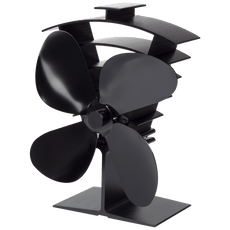 Premium IV 4-Blade Heat Powered Stove Fan