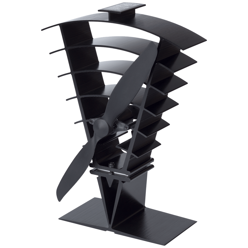 Vanquish Heat Powered Log Burner Stove Fan