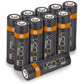 Rechargeable AA Batteries - 1000mAh (10-Pack)