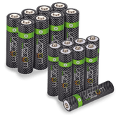 Venom Power Recharge - Premium Rechargeable AA / AAA Batteries (Includes 8 x AA plus 8 x AAA)