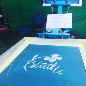 Taking Printing Mobile - Screen Printing as Gaeilge