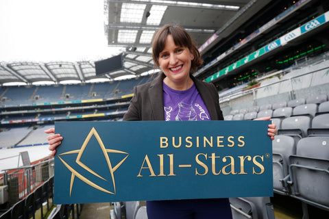 Angelina Foster All Star Design Leader As Gaeilge 2018