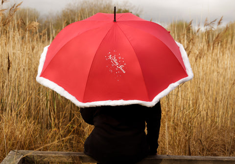 Nollaig Shona Christmas umbrella