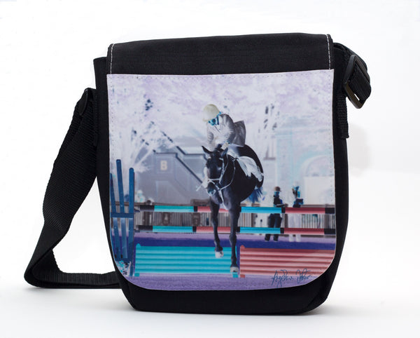Horse Jumping Travel Bag