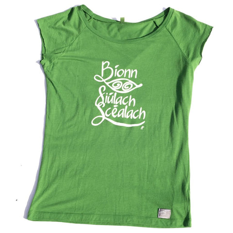 Organic Bamboo Irish language Travel T-Shirt