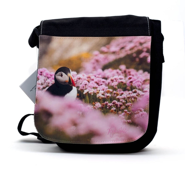 puffin travel bag by Angelina Foster