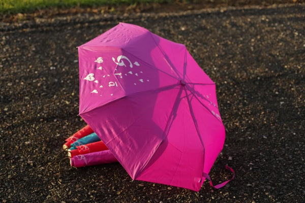 purple Irish love umbrella