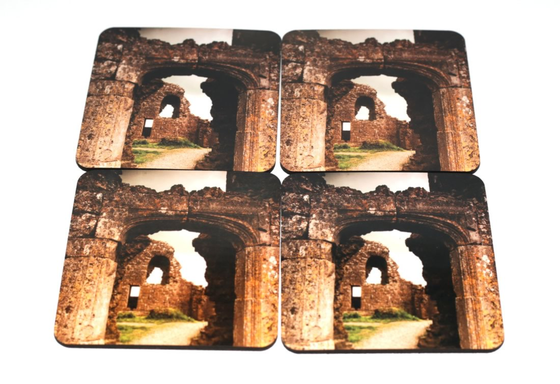 Rock of Dunamase coasters