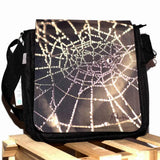Black spiderweb bag