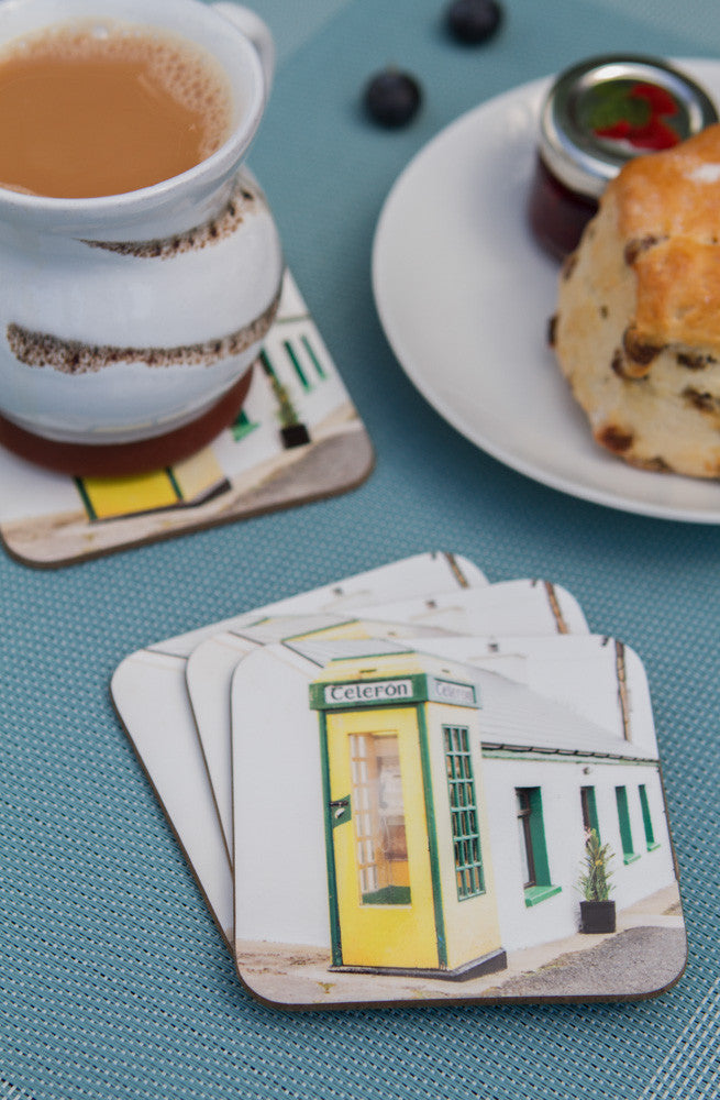Old Phone Box Coasters