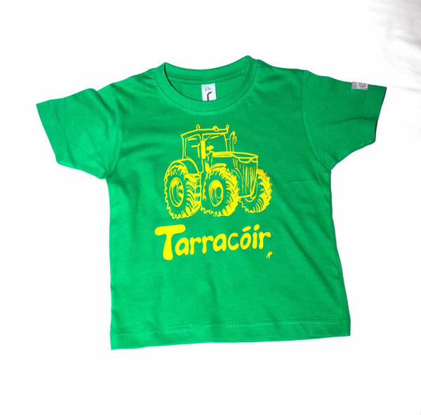 irish language tractor t-shirt