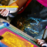 By Endurance We Conquer Book-Binding and Screen-Printing Workshop.