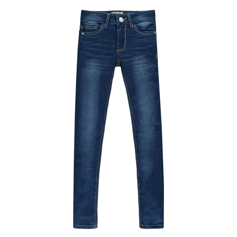 Cars jeans kids Tyrza dark used spijkerbroek - TopKidsFashion