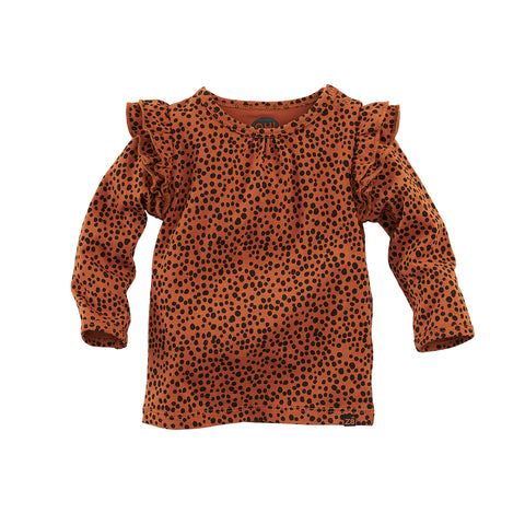 Z8 NOOS shirt Mockingbird Copper blush/AOP - TopKidsFashion
