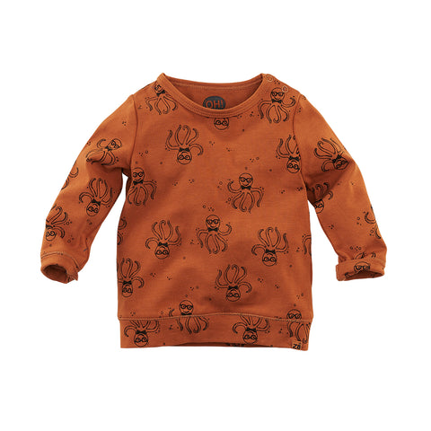 Z8 NOOS shirt Kiran Copper blush/AOP - TopKidsFashion